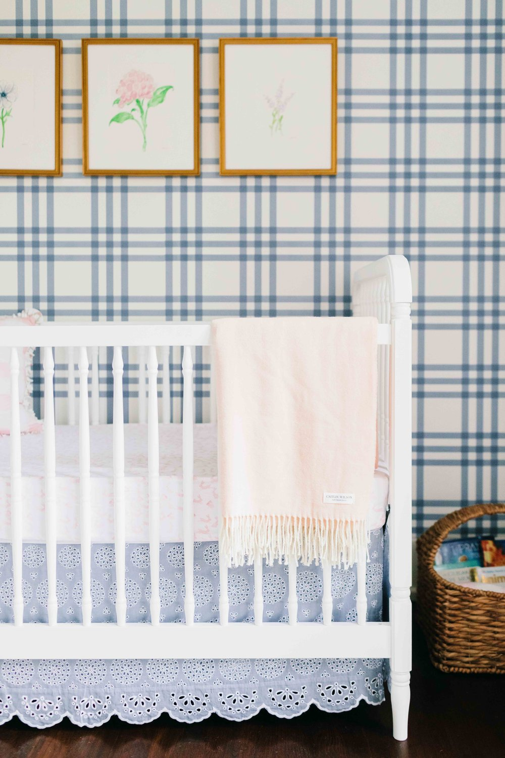 tailored feminine nursery
