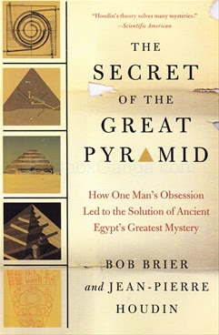 Secret of Great Pyramid by Bob Brier book cover.jpg