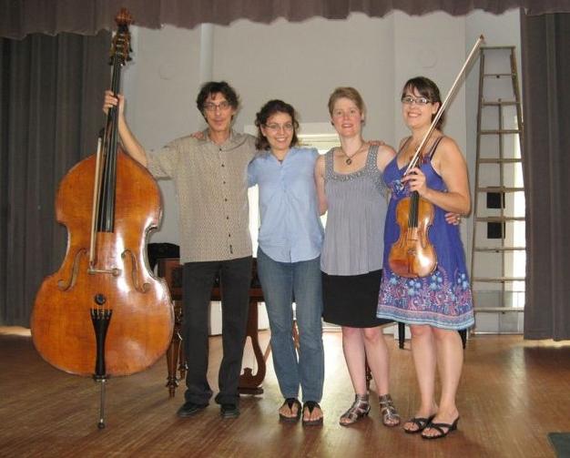 Robert Black, Petra Berenyi, Tony Arnold & Gabriela Diaz