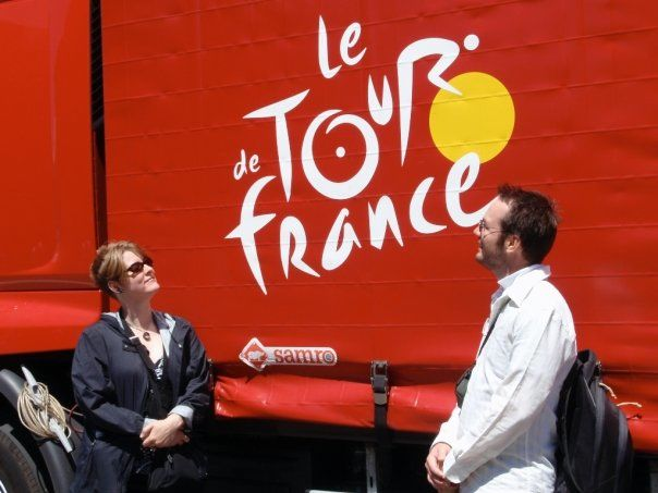 Tony & Nathanael escape to le tour...