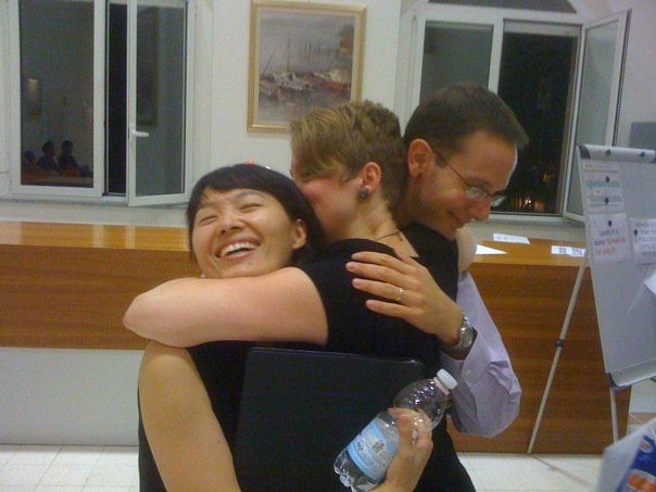 Brendan & Shoko, lovely pianists