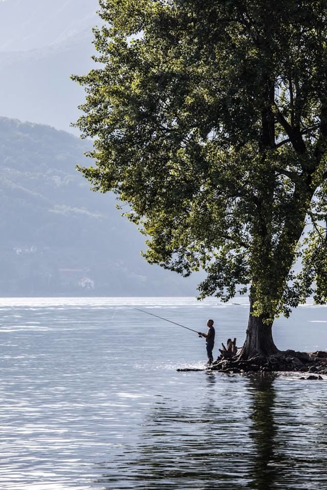 On Lago Maggiore.  photo: Evren Selvi