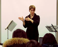 Lecture at Tongyeong International Music Festival, 2010