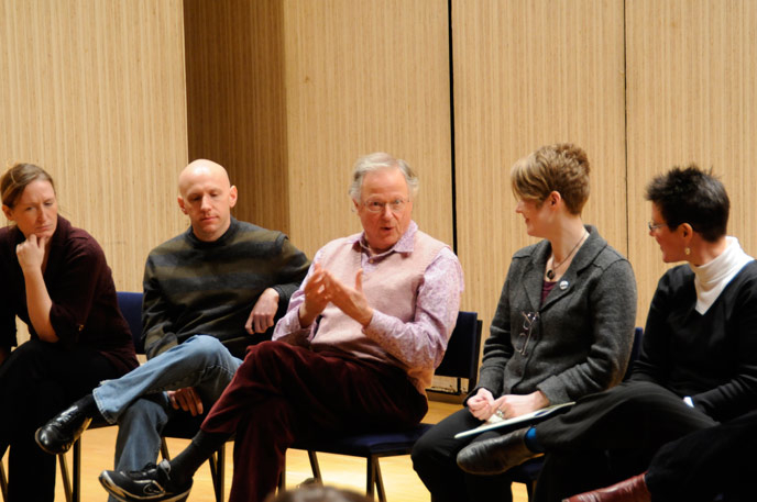 Vanguard Festival panel discussion: Martha Guth, Jacob Greenberg, Paul Sperry, TA & Alison D'Amato