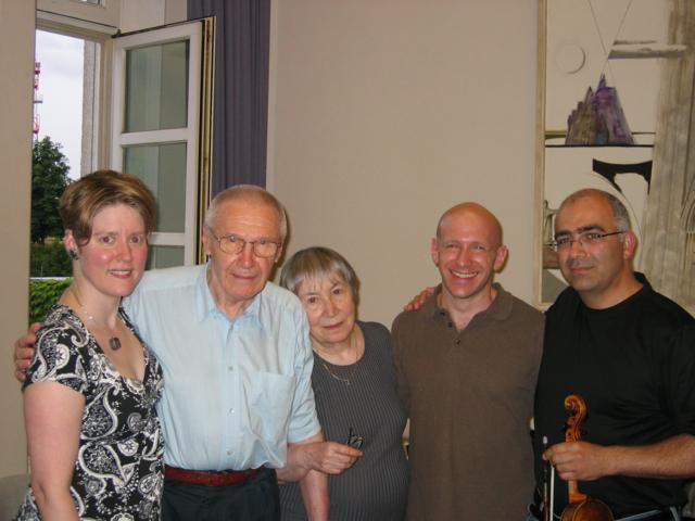 TA, György & Márta Kurtág, Jacob Greenberg & Movses Pogossian, Darmstadt 2008
