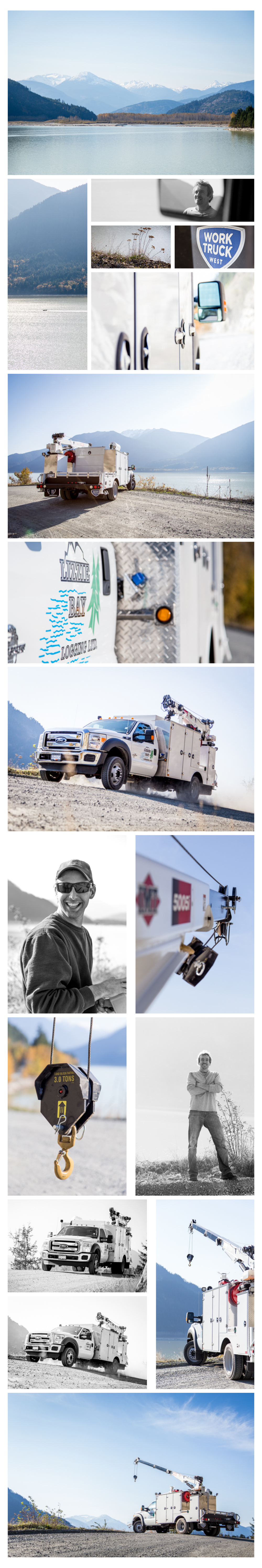 Little photo narrative of our day down the lake road.