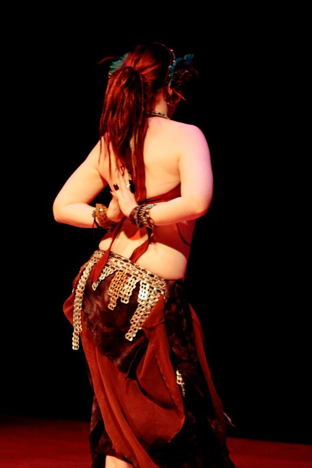 Amani Maharet during an American Belly Dance Club show in Melbourne, FL.