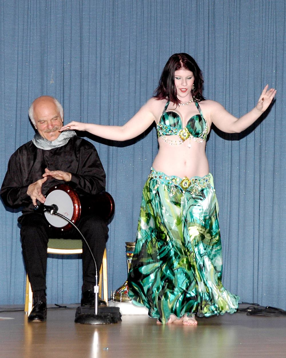 Amani Maharet bellydancing to live music @ Festival On The Nile in Orlando, FL.