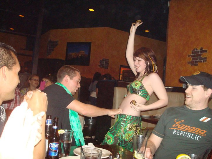 Amani bellydancing @ Acropolis Greek Taverna in New Tampa, FL