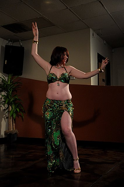 Amani bellydancing @ Mythos Bar & Grill in Clearwater, FL