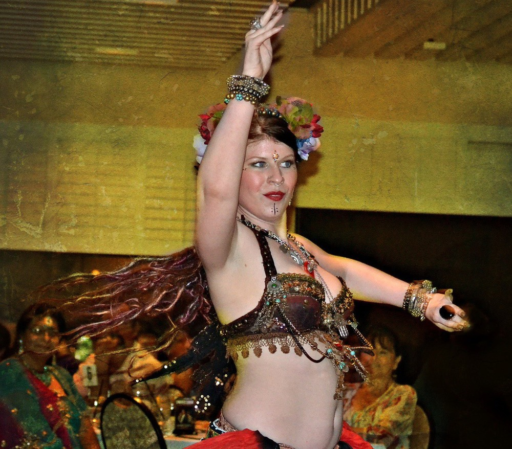 ATS bellydancing in all it's glory @ the Kashmir Nights Hafla in New Port Richey, FL.