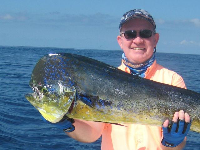 dorado fishing in quepos