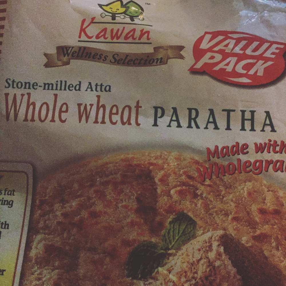 Paraathas like these don't need extra oil in the pan. Just take one out of the package and lay it flat on the pan. The butter and oil will ooze out of the Paraatha as it already contains much of it. Slightly dab it on both sides. And viola, you're done.
