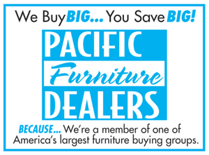 We are part of the Pacific Furniture Dealers to help save you Money!