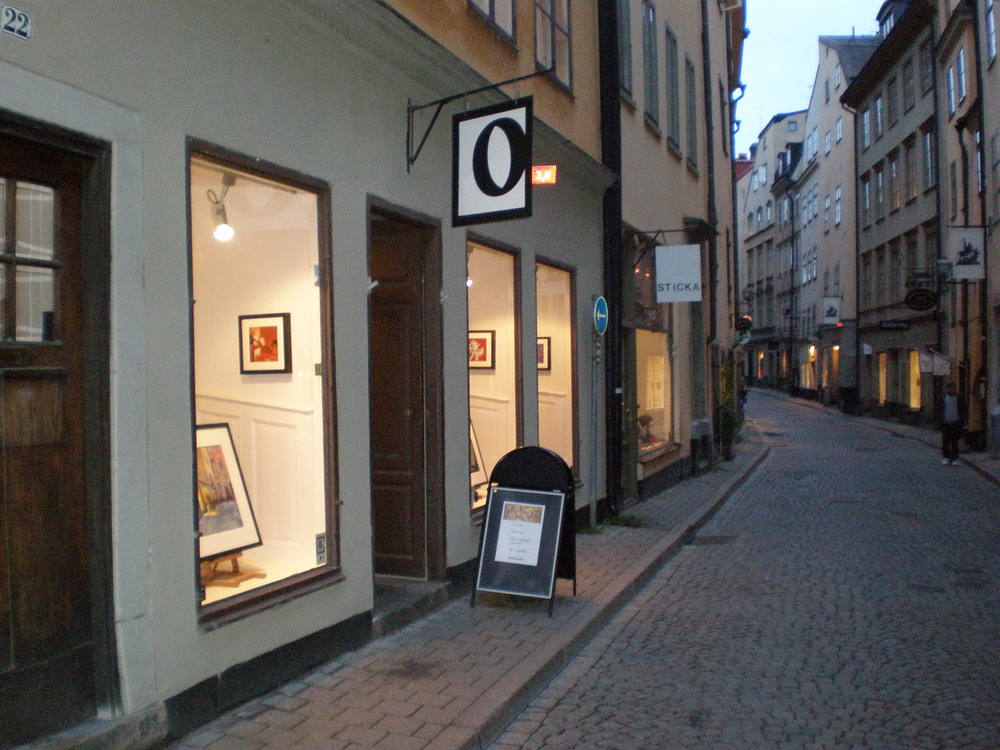 Gallery O - My first Gallery Representation in Stockholm, Sweden.