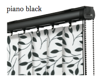 Vogue Slimline Track - Piano Black