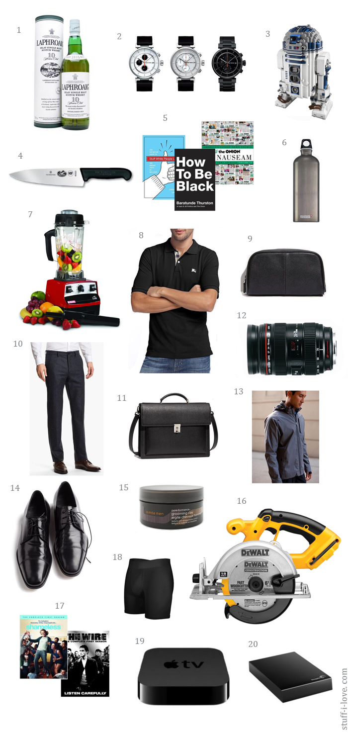 Holiday 2012 gift guide gifts for men stuff i love for A gift for a guy
