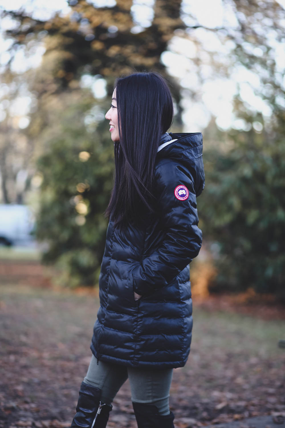 ... canada goose ladies camp coat ...