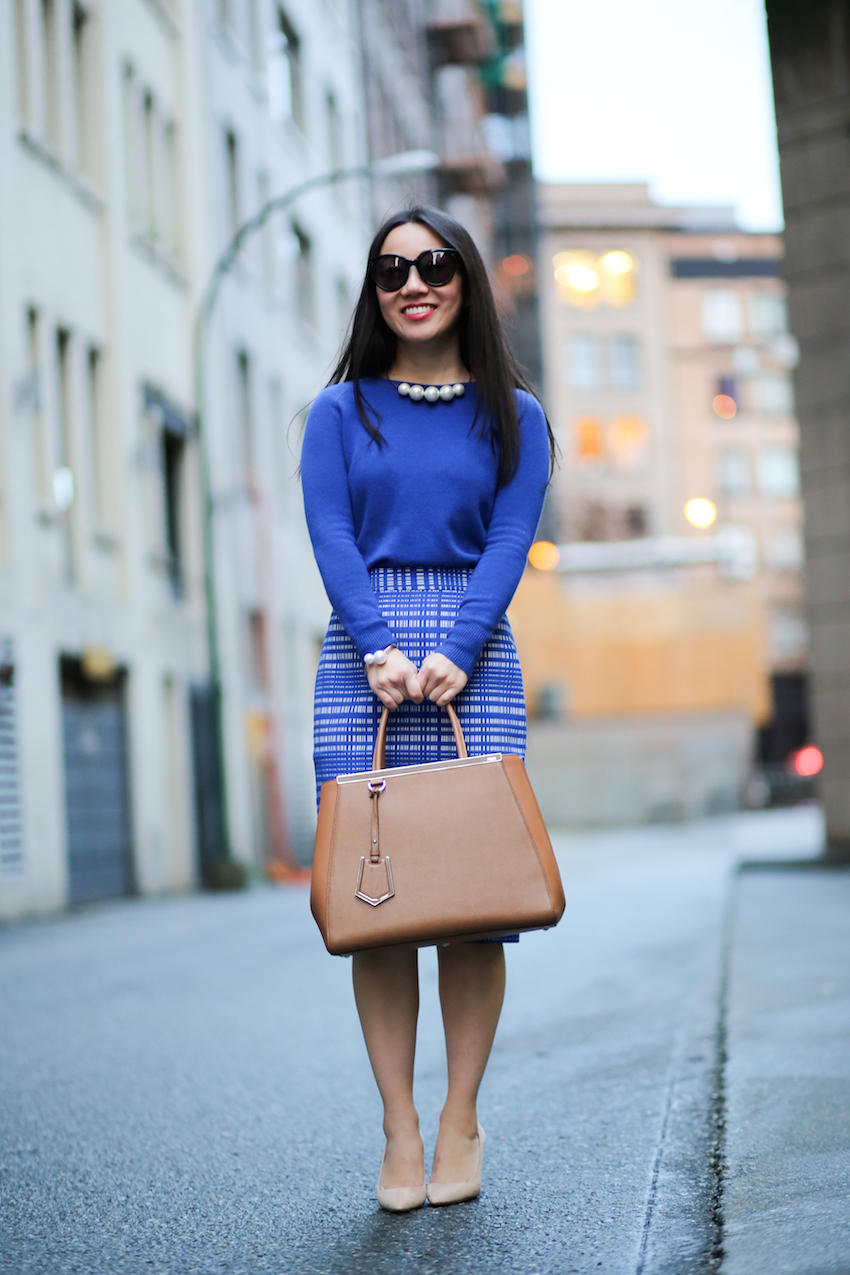 corporate work wear outfit style blogger