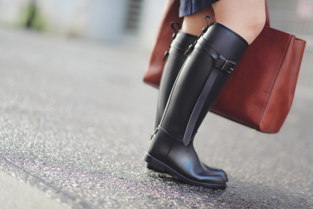 Burberry 'Roscot' Waterproof Riding Boot