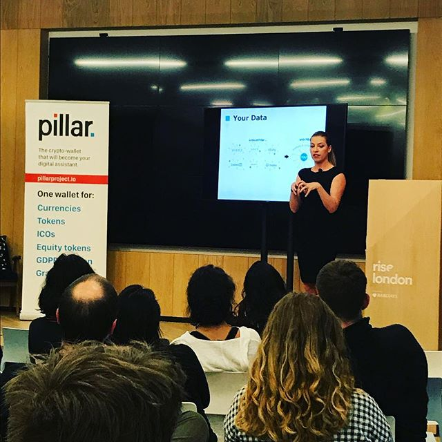 """Your #data is a honeypot!"" - @thepillarpr0ject #GGM18  Pillar helps keep those data stealing bugs at bay by providing a secure, user-friendly #crypto and token wallet - keeping your data safe and (in the #future) storing your #digital life within a secure wallet."