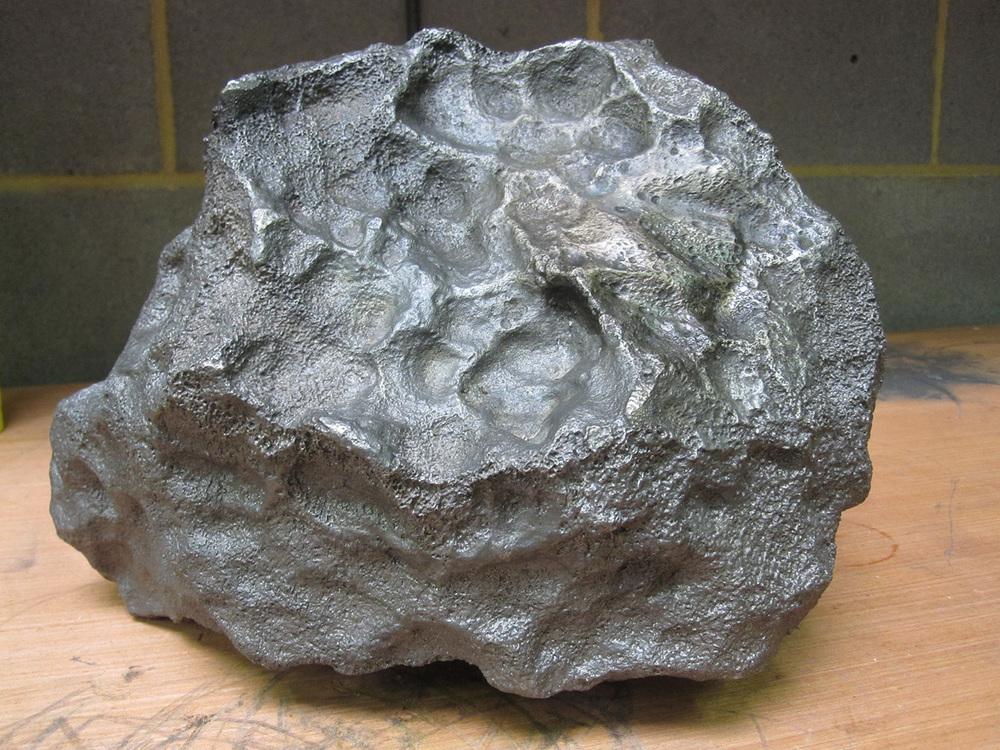 Recast meteorite