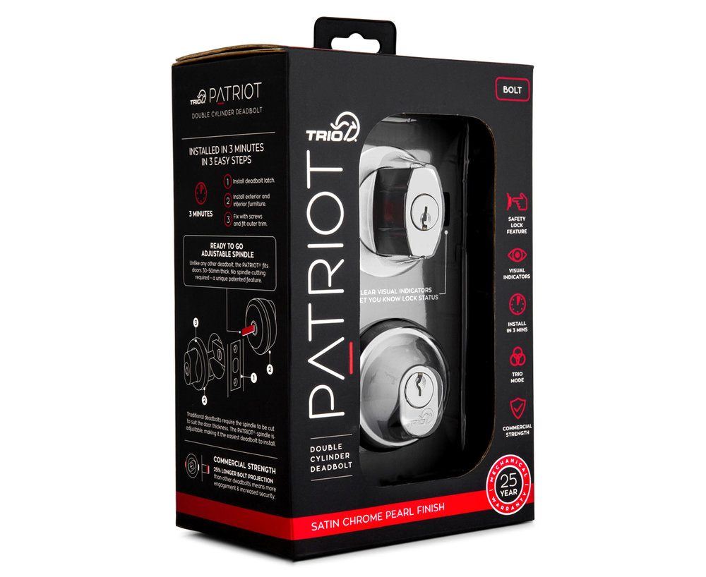 trio australia patriot deadbolt