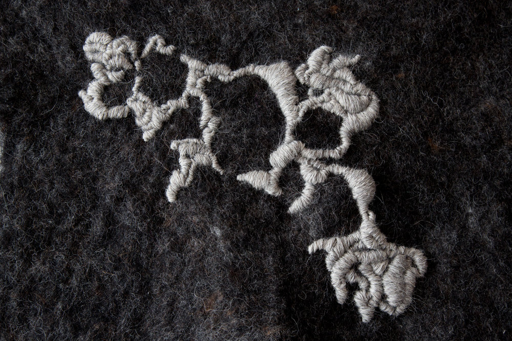 Felt with freehand embroidery based on lichen.jpg