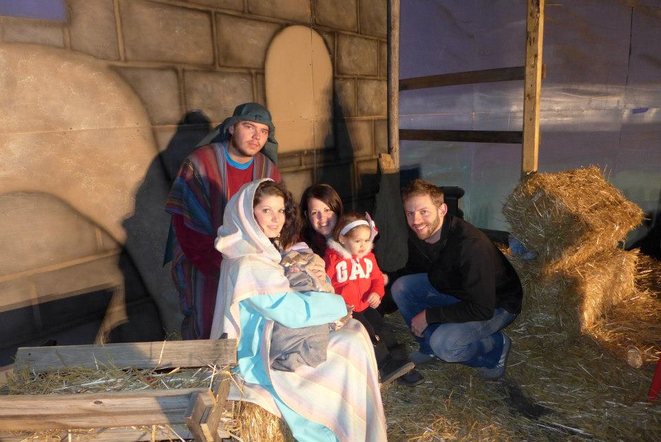 Photo Op at the Manger!