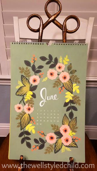 Rifle Paper CO. 2014 Secret Garden Calendar