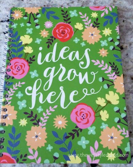 Also from Target- a new year, new thoughts, vision and ideas calls for a new notebook! And a beautiful one at that!