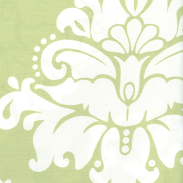Serena and Lily Kate Sprout Damask Fabric