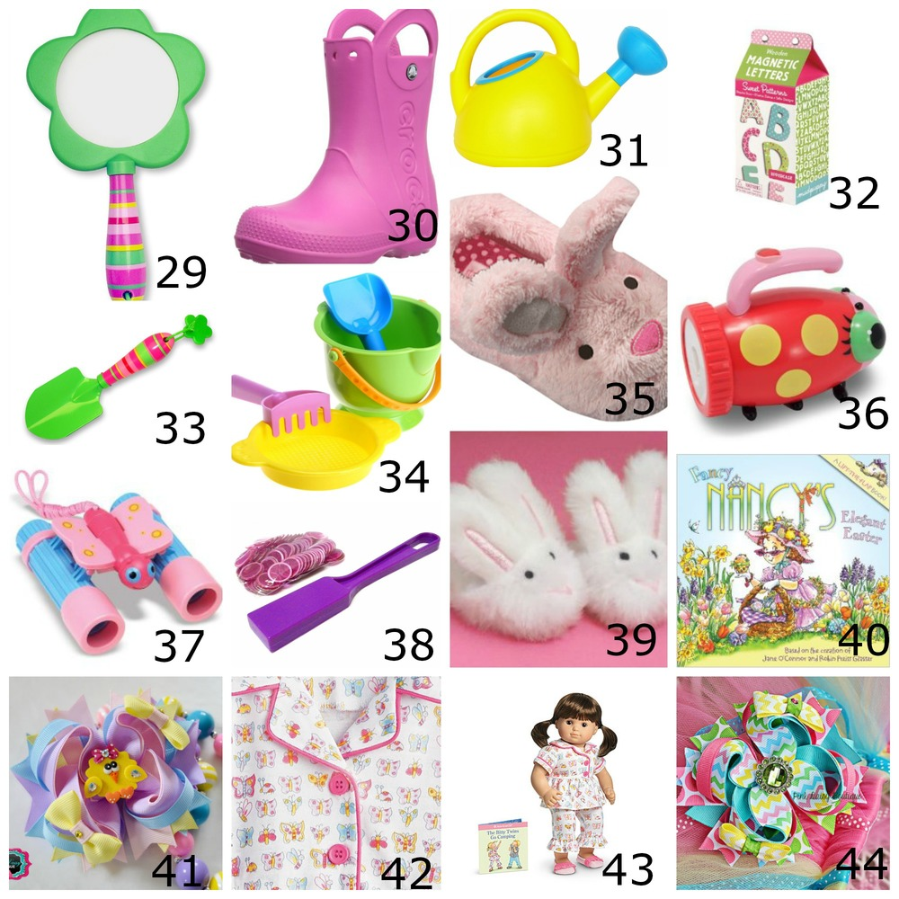 Bunny basket bonanza the well styled child toddler girl collage 1g negle