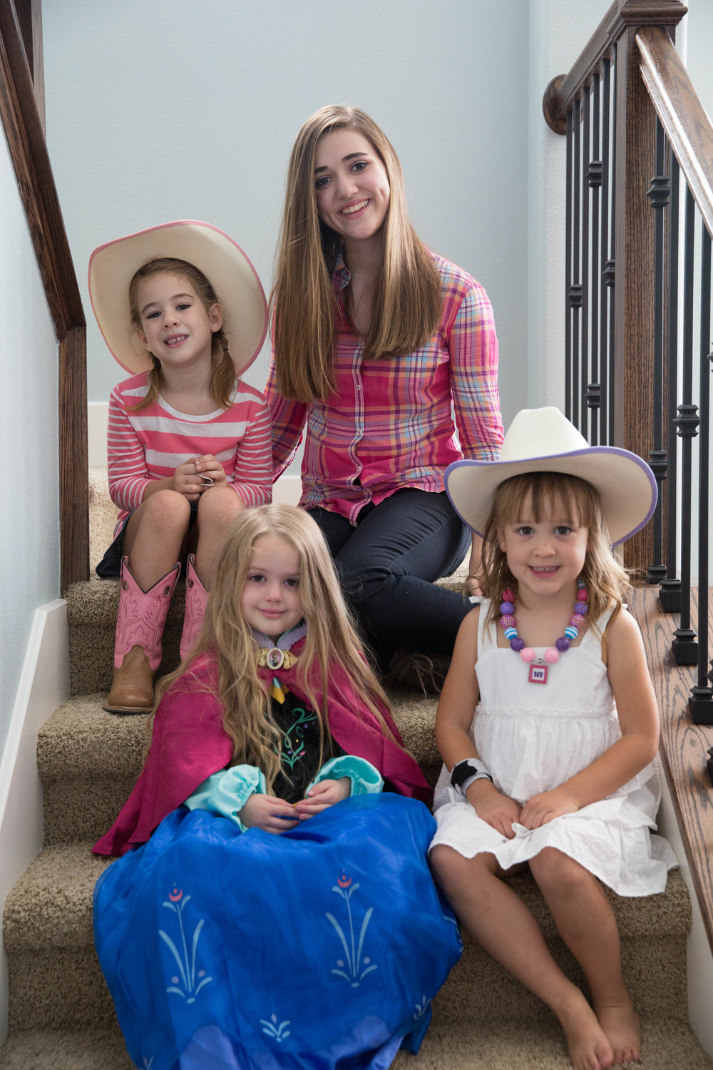 And another costume change for Holiday-- along with my nieces:  Eliza, Zoe and Emme