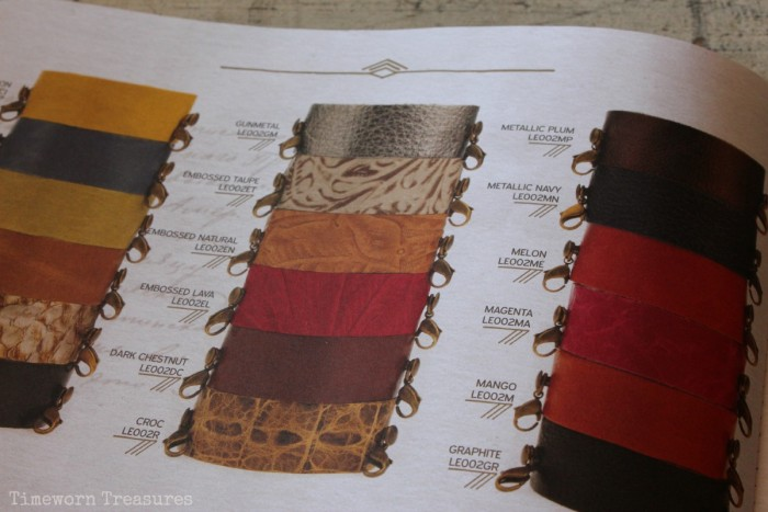 Cuff Color/ Leather Options