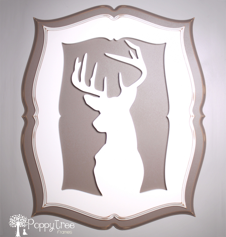 Attractive Deer Picture Frame Gallery - Custom Picture Frame Ideas ...