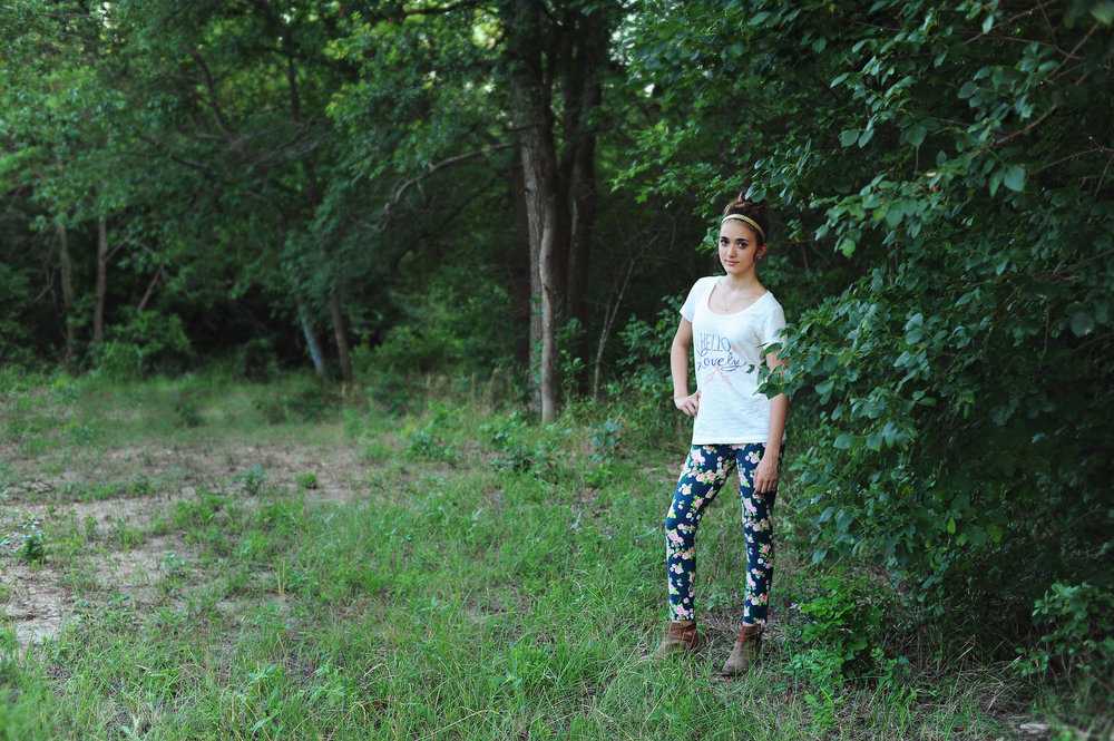 In The Valley Jeggings (435 Collection) with the Hello Lovely Tee (Ladies Collection)