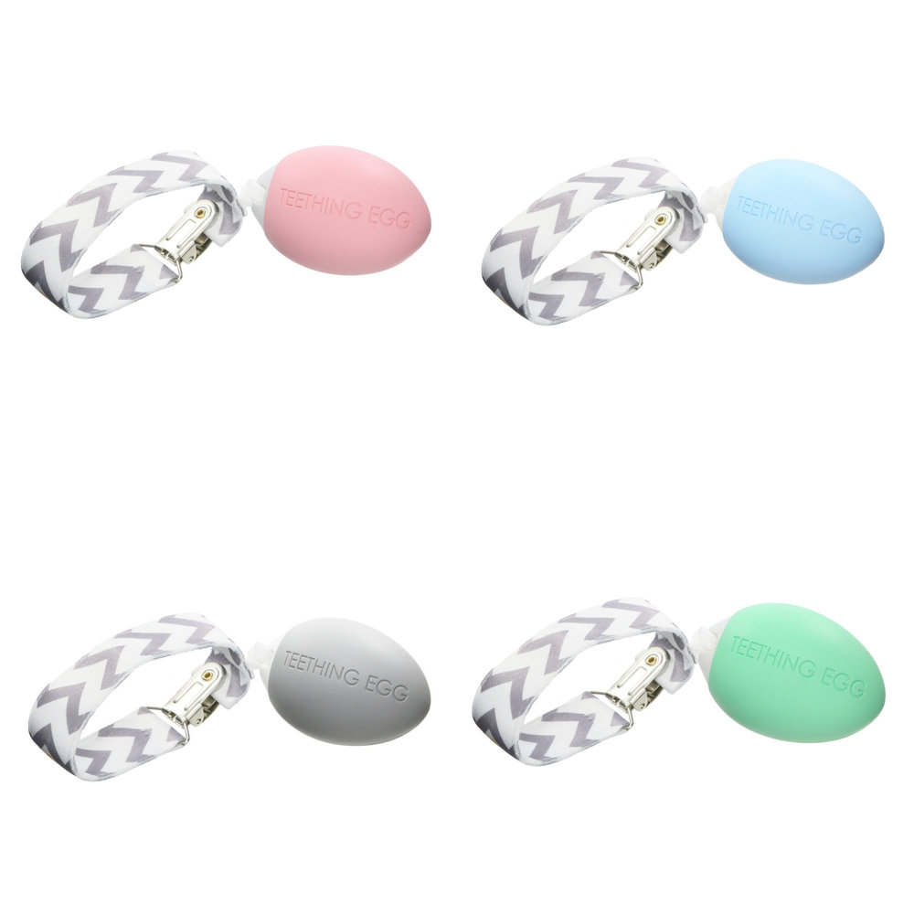 The Teething Egg, Multiple Colors Available Here