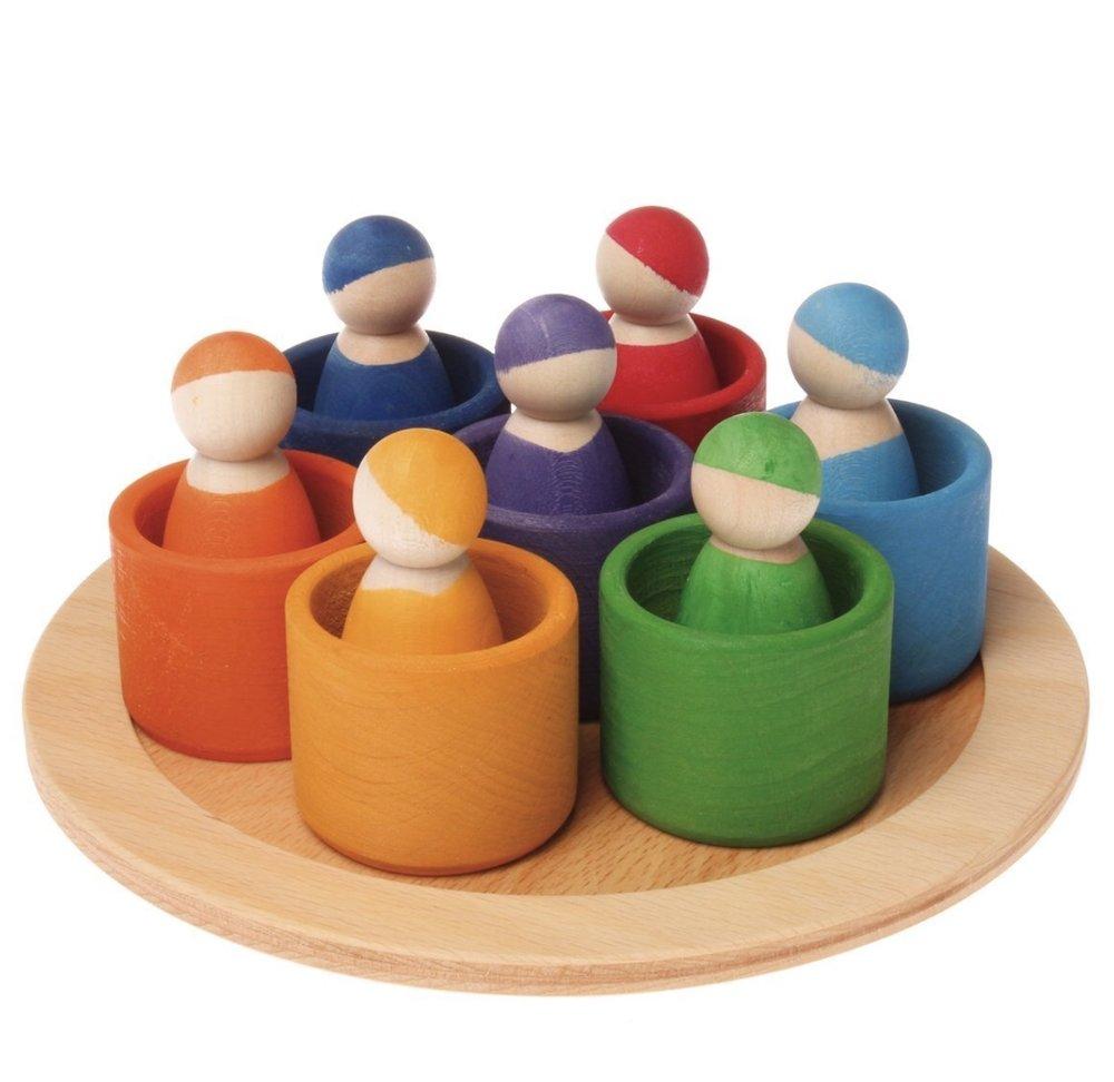 Grimm's Seven Friends in Seven Bowls