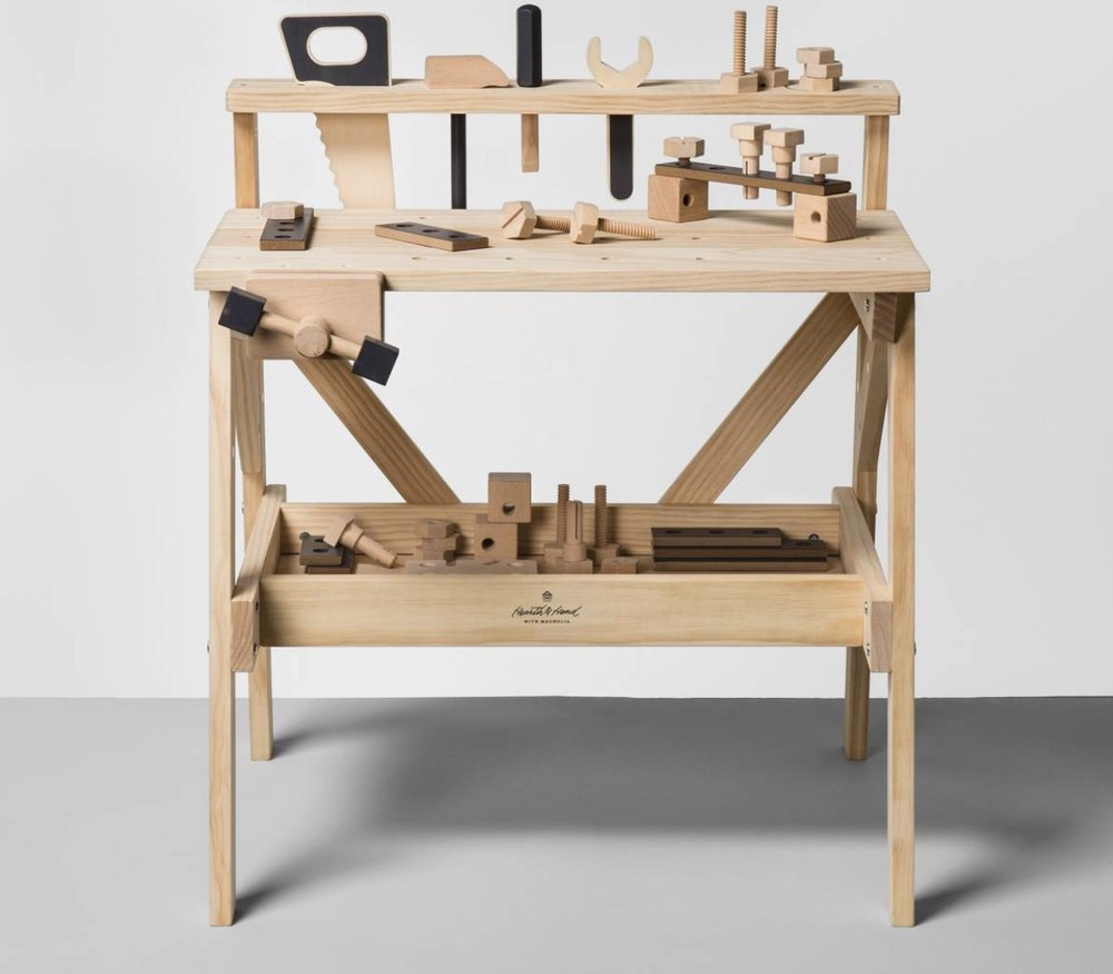 Hearth and Hand Wooden Toy Tool Bench