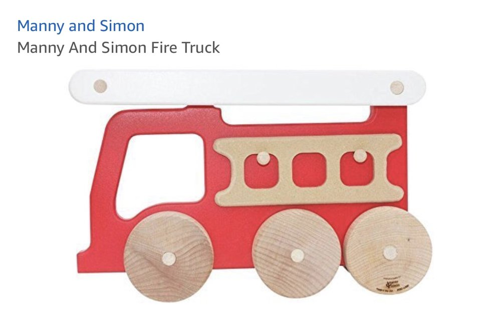 Manny and Simon Firetruck