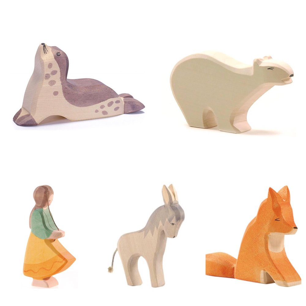 Ostheimer Wooden Animals
