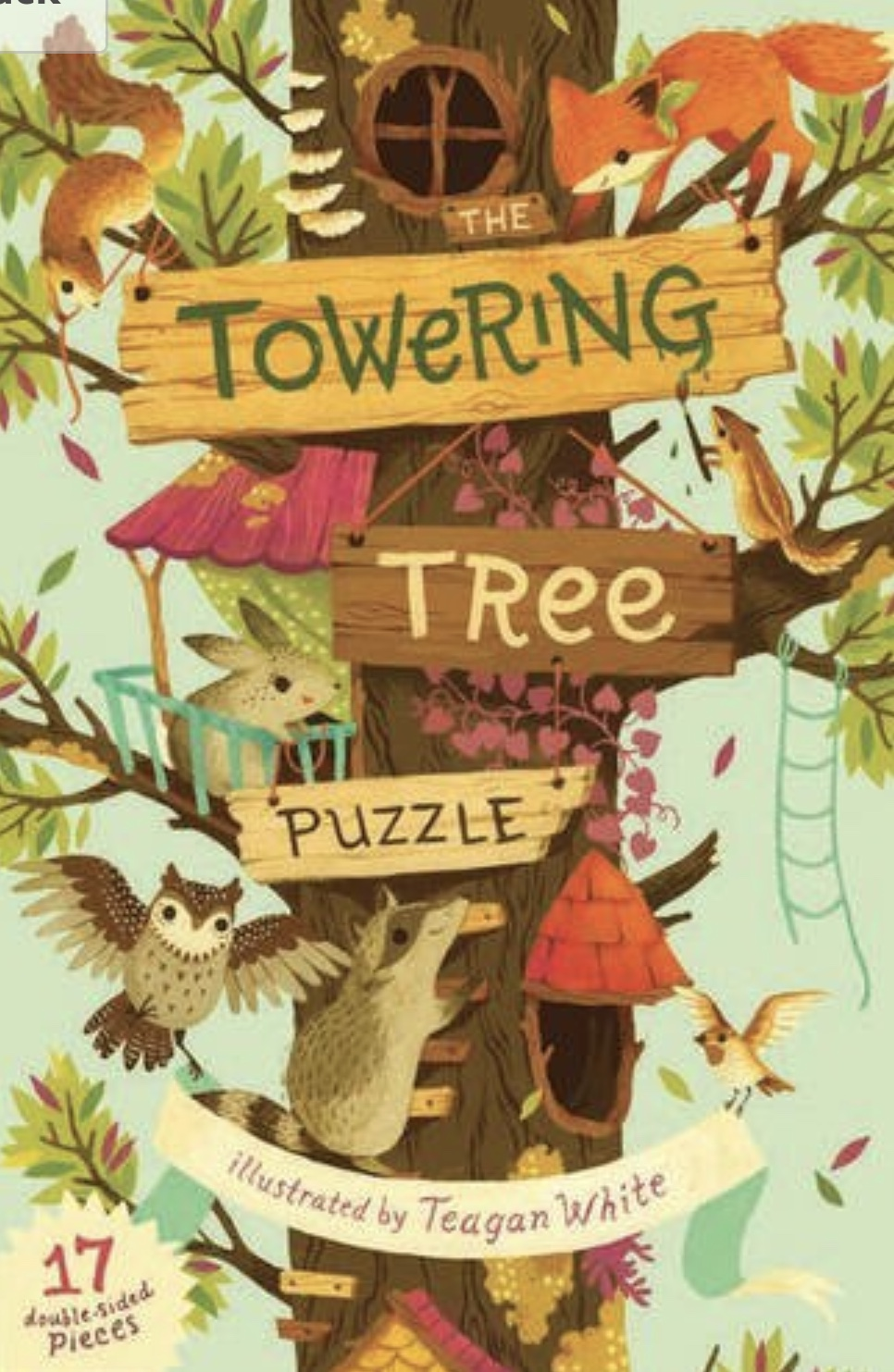 Towering Tree Puzzle Illustrated by Teagan White