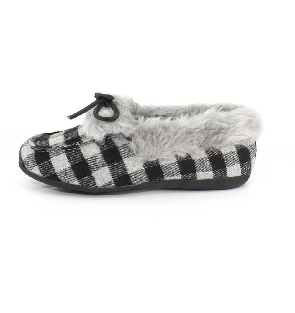 Womens Vionic Faux Fur Juniper Slipper