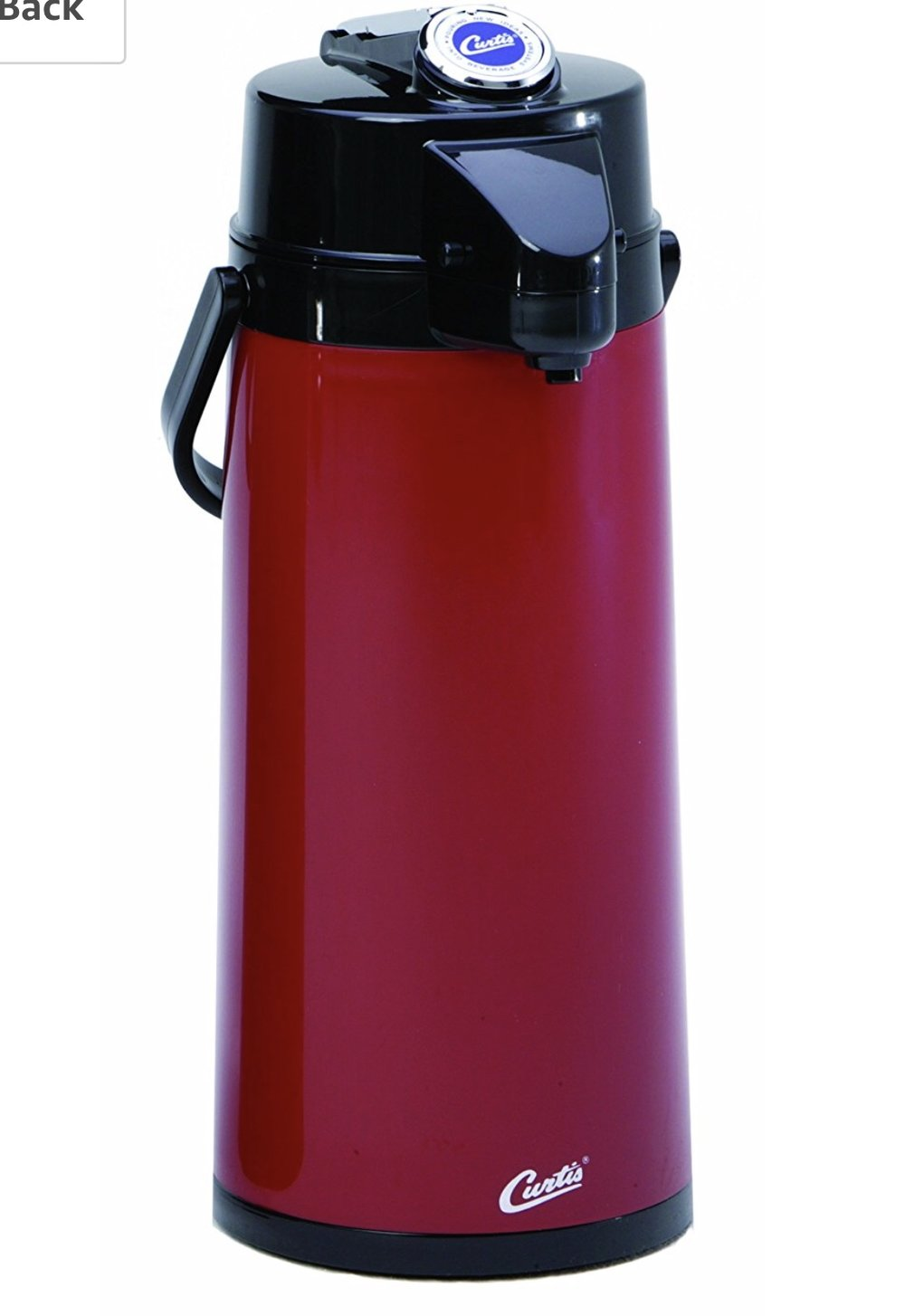 Wilbur Curtis Thermal Dispenser Airpot 2.2L Commercial Airpot, Red