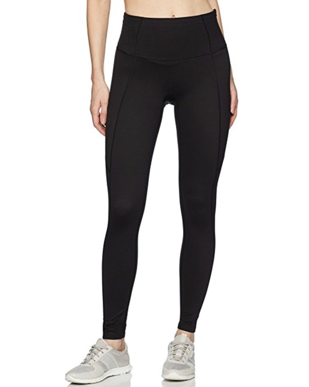 Spanx Active Womens Shaping Compression Leggings, Color: Black