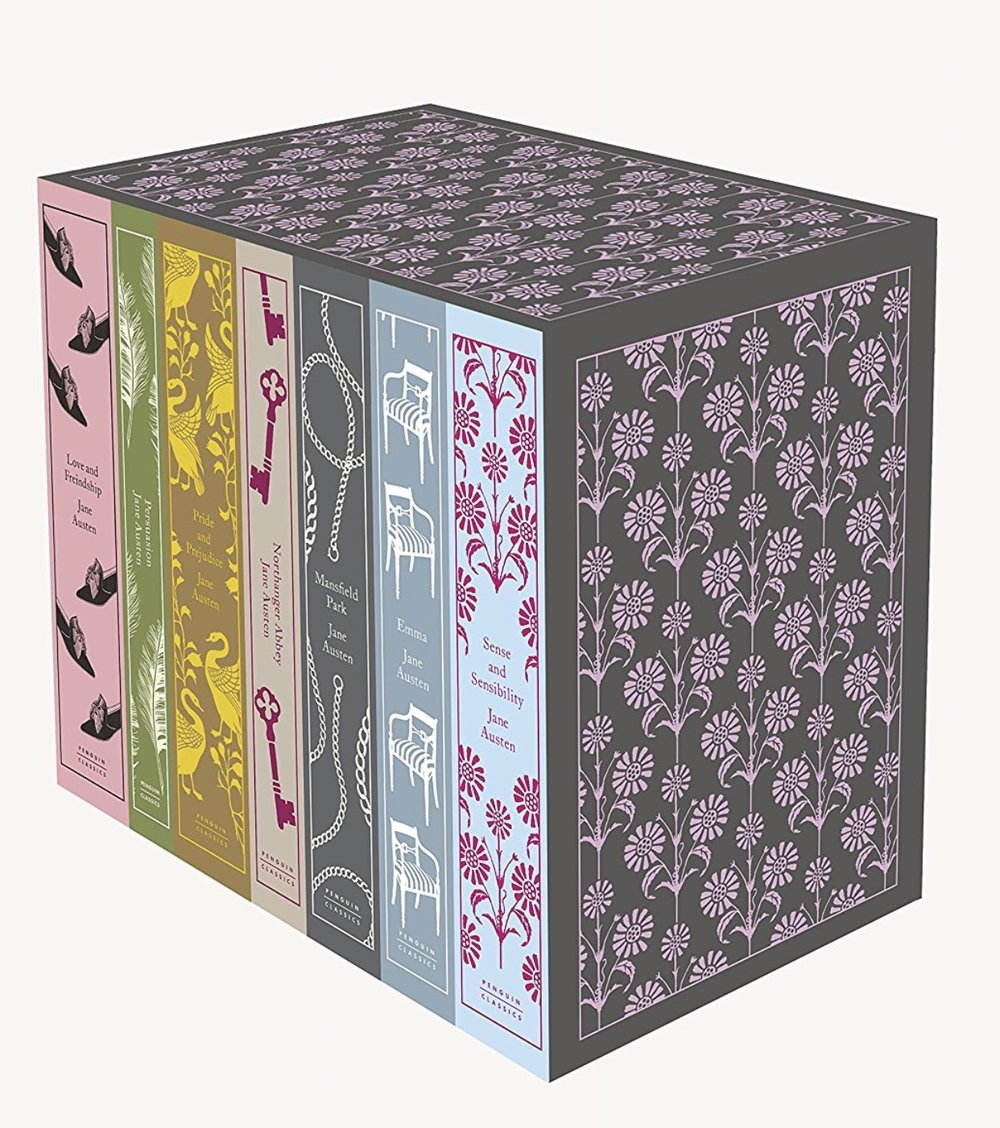 Jane Austen: The Complete Works Penguin Classic Hardcover Boxed Set
