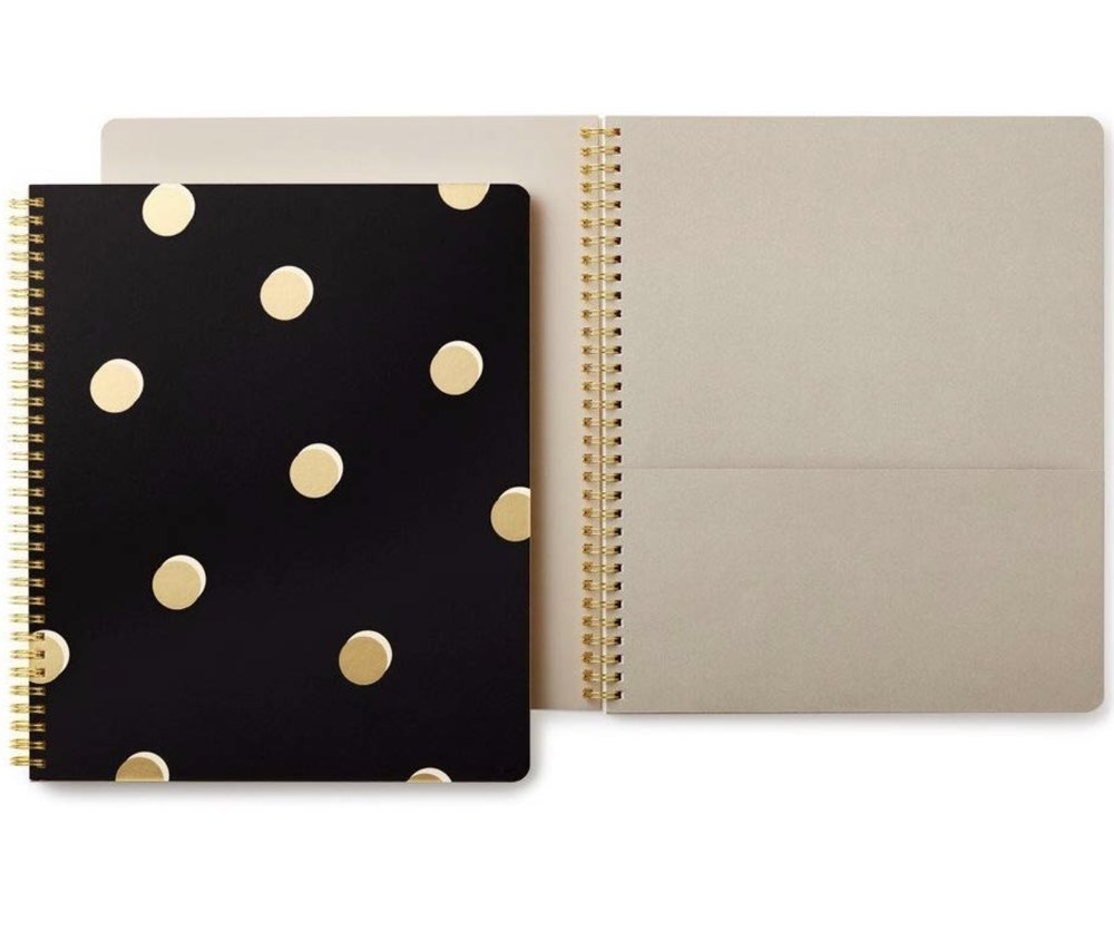 Kate Spade Spiral Bound Notebooks