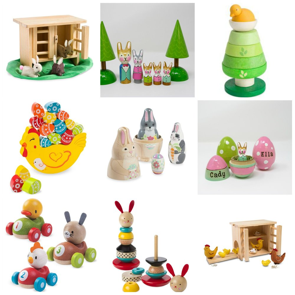 Easter Blog. Spring Wooden Wonders.Collage.jpg