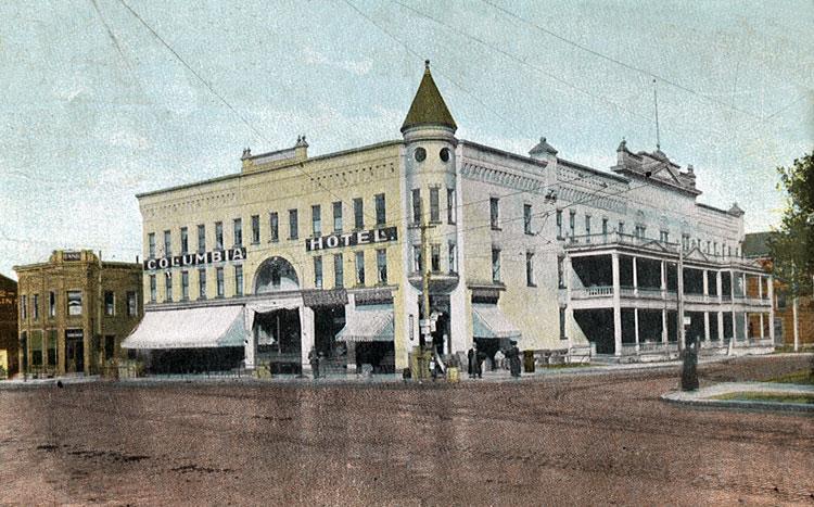 Columbia Hotel c.1900